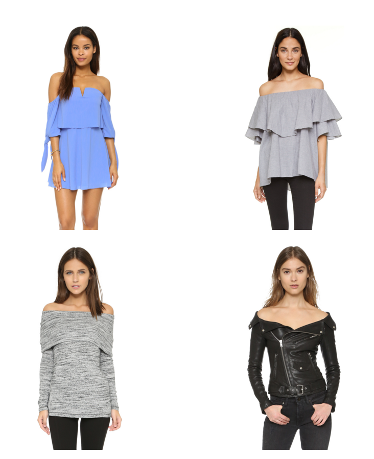 Shop Our Obsession: Off-the-Shoulder Tops
