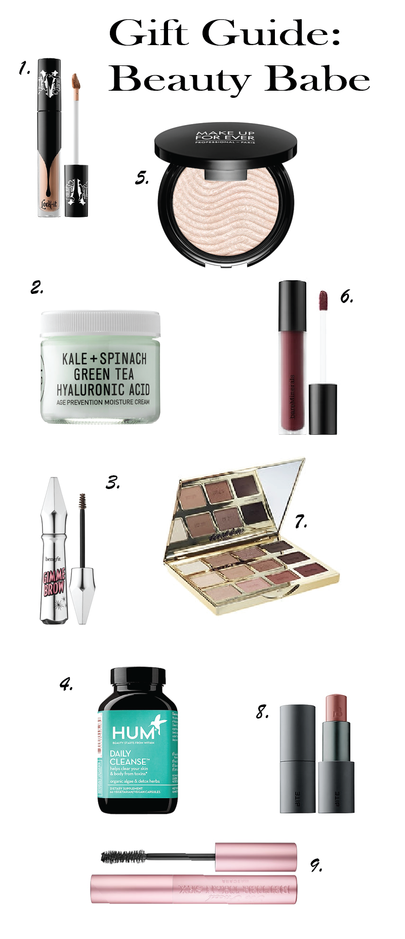 Gift Guide: Beauty Babe