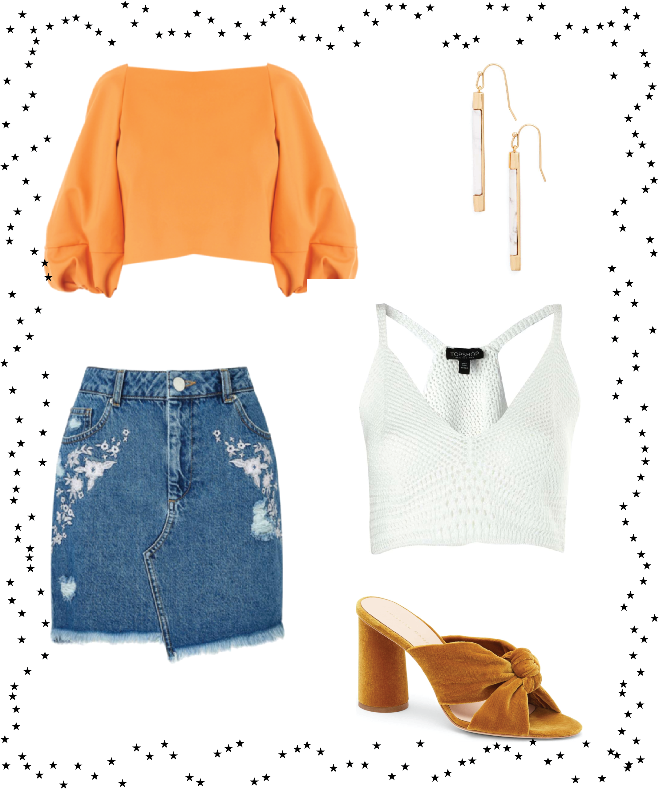 Trend to Try: Layered Crop Tops