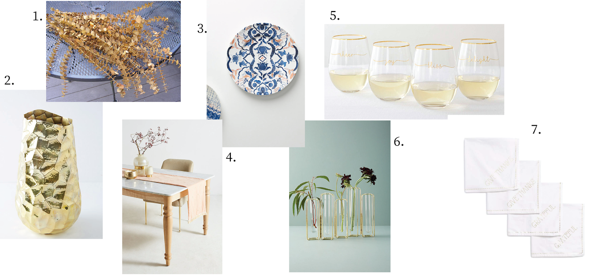 Buying Guide: Thanksgiving Tablescape