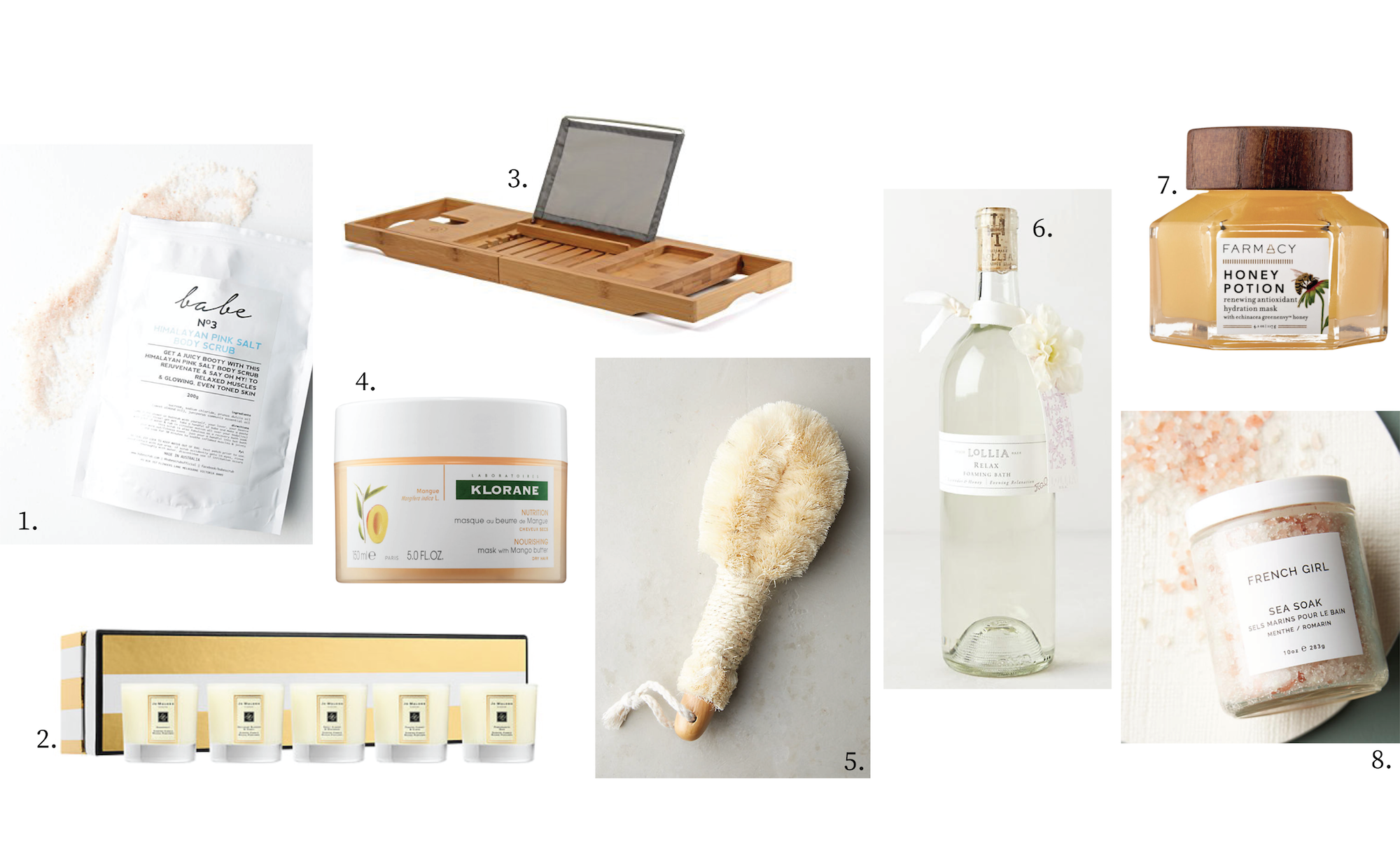 Gift Guide Bath Time
