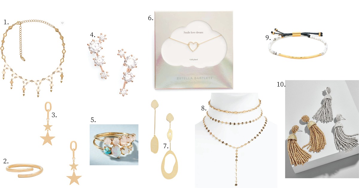 Gift Guide: Jewelry Under $50