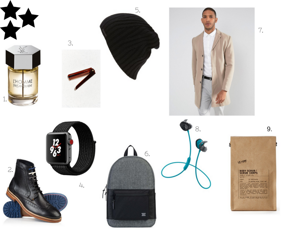Gift Guide to Hubby, With Love