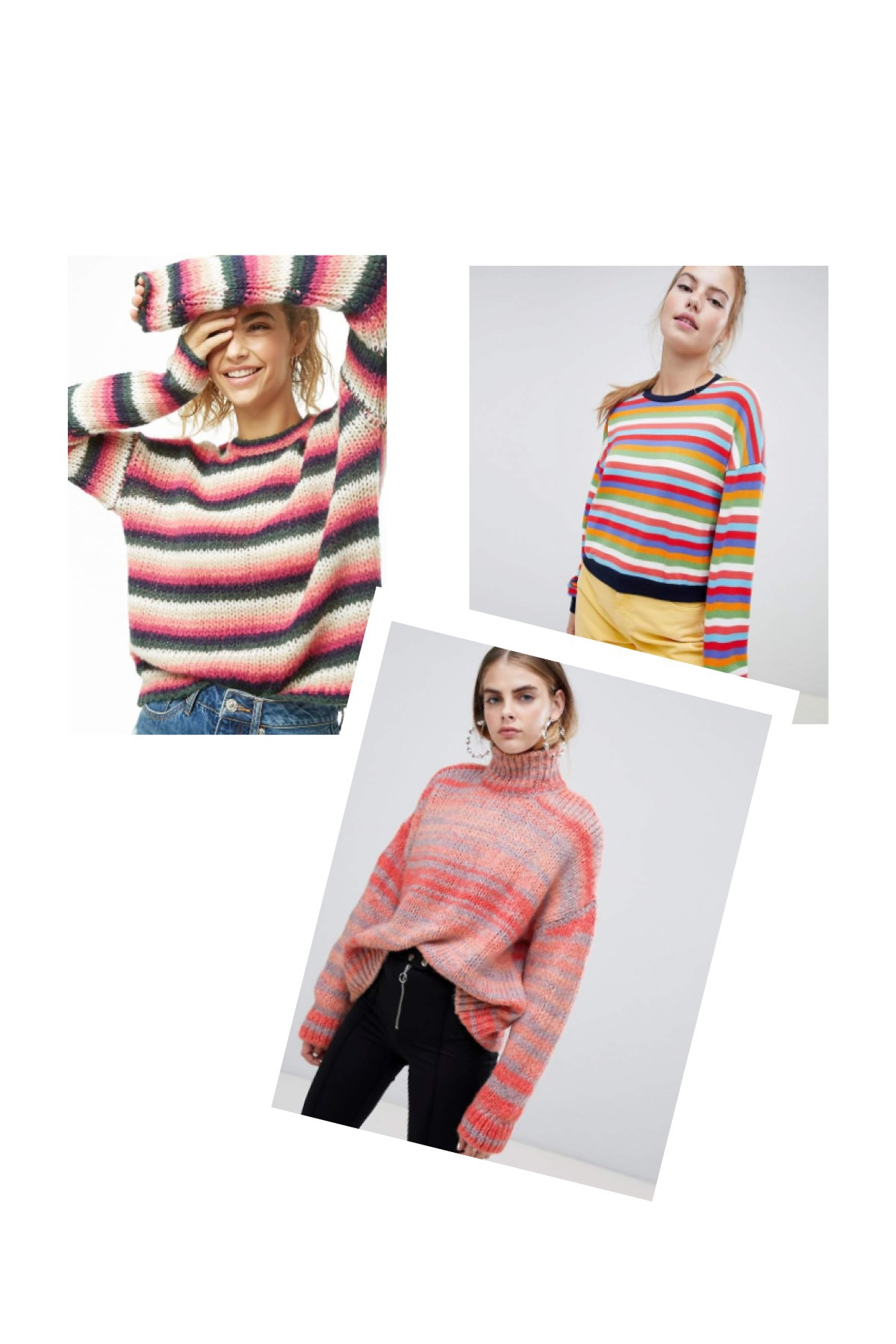 Striped Sweaters for Winter